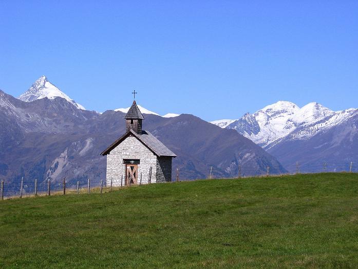 Foto: Andreas Koller / Wander Tour / Vom Glocknerblick auf den Mohar (2604m) / Kapelle beim