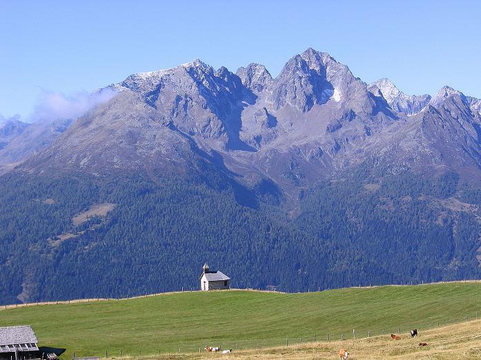 Foto: Andreas Koller / Wander Tour / Vom Glocknerblick auf den Mohar (2604m) / Die Schobergruppe ums Petzeck (3283 m) / 30.09.2008 22:45:57