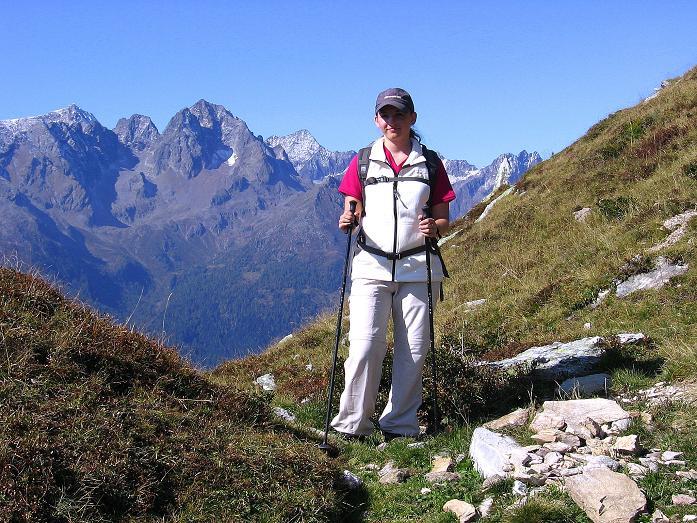 Foto: Andreas Koller / Wander Tour / Vom Glocknerblick auf den Mohar (2604m) / Kurz unterhalb des Mohar-Kreuzes / 30.09.2008 22:44:44