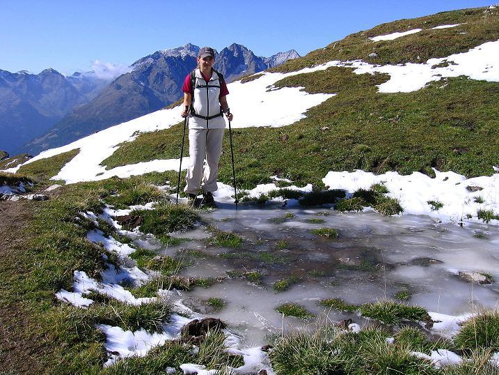 Foto: Andreas Koller / Wander Tour / Vom Glocknerblick auf den Mohar (2604m) / Kleiner Eissee und Blick in die Schobergruppe / 30.09.2008 22:41:29