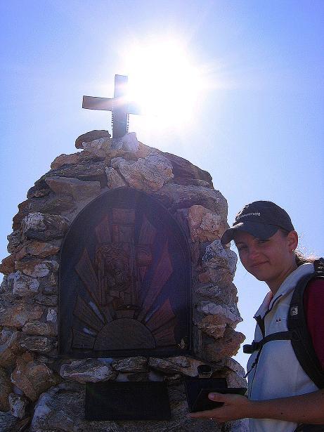 Foto: Andreas Koller / Wander Tour / Vom Glocknerblick auf den Mohar (2604m) / Mohar-Gipfelkreuz / 30.09.2008 22:38:17