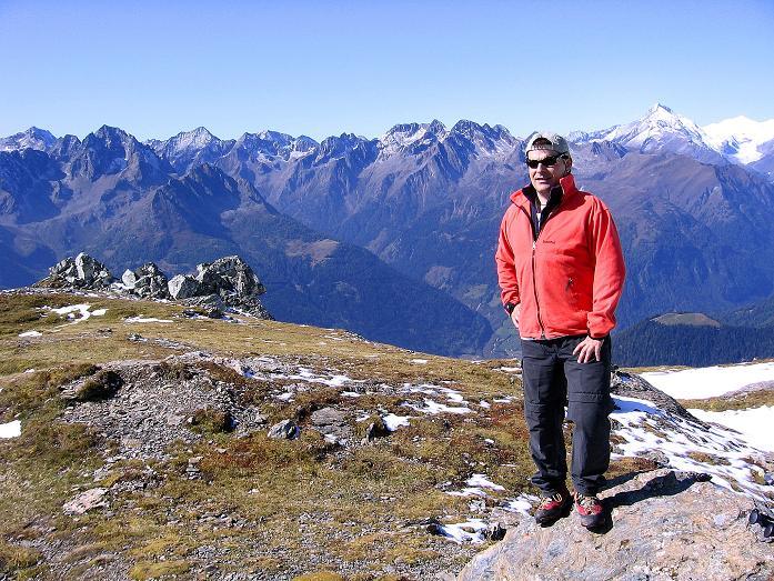 Foto: Andreas Koller / Wander Tour / Vom Glocknerblick auf den Mohar (2604m) / Am Mohar mit Blick in die Schobergruppe / 30.09.2008 22:37:06