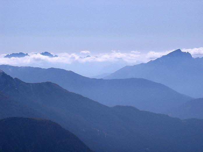 Foto: Andreas Koller / Wander Tour / Vom Glocknerblick auf den Mohar (2604m) / Blick nach S zu den Lienzer Dolomiten / 30.09.2008 22:35:57
