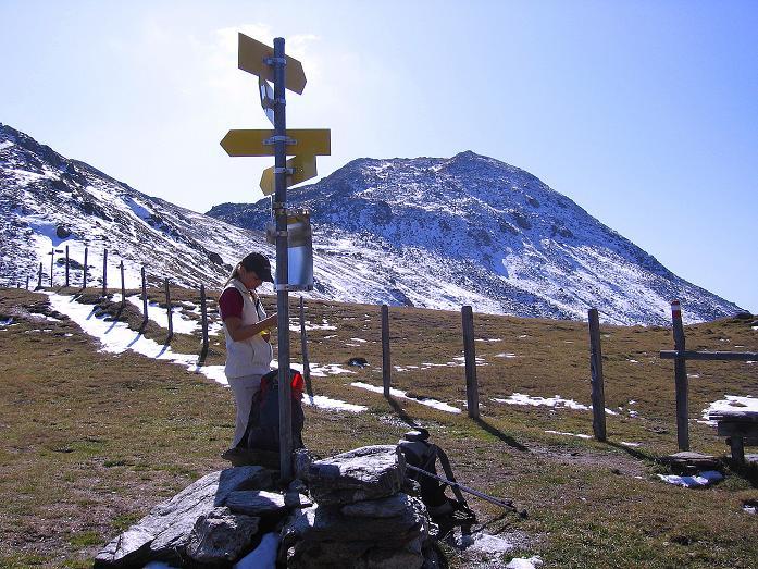 Foto: Andreas Koller / Wander Tour / Vom Glocknerblick auf den Mohar (2604m) / Vom Göritzer Törl Blick auf den Mohar  / 30.09.2008 22:34:40