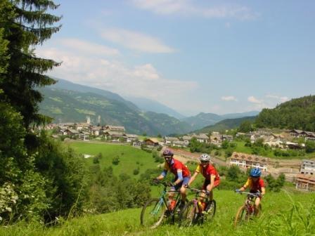 Foto: Rosengarten-Latemar / Mountainbike Tour / Nigerpass / Steinegg / 27.10.2008 16:42:43