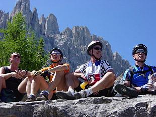 Foto: Rosengarten-Latemar / Mountainbike Tour / Latemarumrundung / MTB Latemar / 27.10.2008 16:43:44