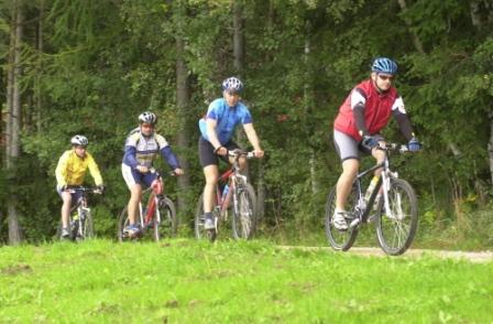 Foto: Rosengarten-Latemar / Mountainbike Tour / Schneiderwiesen / 27.10.2008 16:40:21