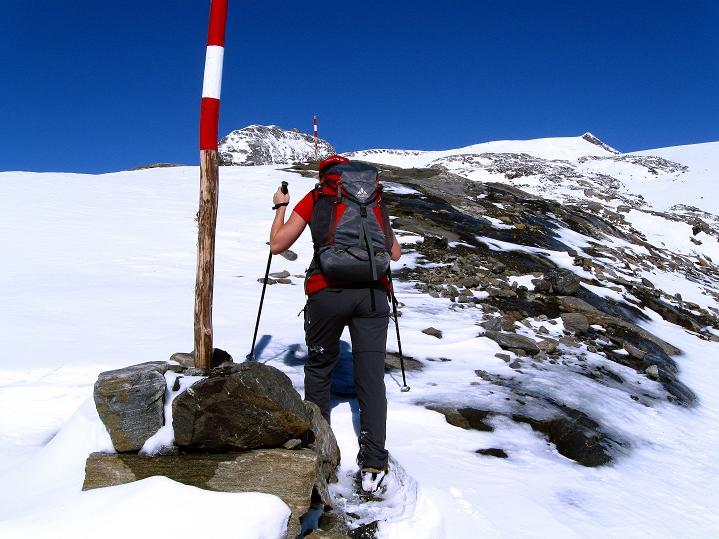 Foto: Andreas Koller / Wander Tour / Fuscherkarkopf (3336m) - Überschreitung / Aufstieg Richtung Oberwalder Hütte / 02.10.2008 02:58:13
