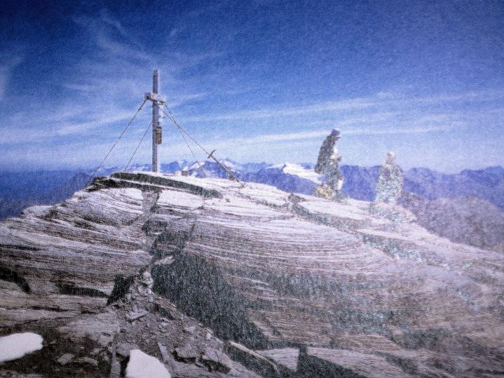 Foto: Andreas Koller / Wander Tour / Fuscherkarkopf (3336m) - Überschreitung / Fuscherkarkopf-Gipfel / 02.10.2008 02:51:40