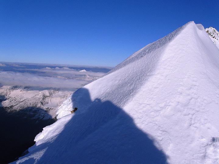 Foto: Andreas Koller / Wander Tour / Fuscherkarkopf (3336m) - Überschreitung / Am Gipfel mit Blick nach NO / 02.10.2008 02:50:07