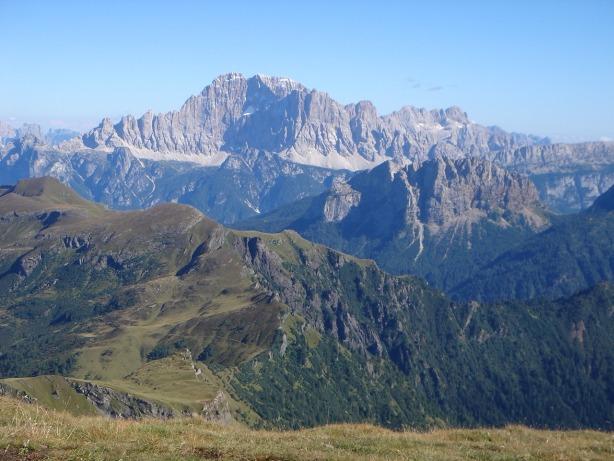 Foto: Manfred Karl / Klettersteig Tour / Via ferrata delle Trincee / Traumberg Civetta (siehe alpintouren.at) / 04.10.2008 14:14:54