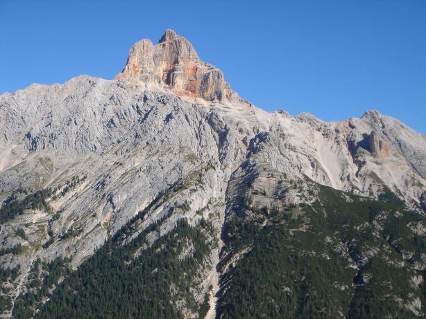 Foto: Manfred Karl / Klettersteig Tour / Via ferrata René de Pol / Ein schöner und schwieriger Gipfel: Hohe Gaisl / 04.10.2008 17:18:13