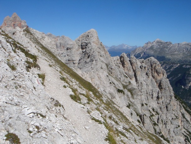 Foto: Manfred Karl / Klettersteig Tour / Via ferrata René de Pol / Forame di Fuori / 04.10.2008 17:09:49