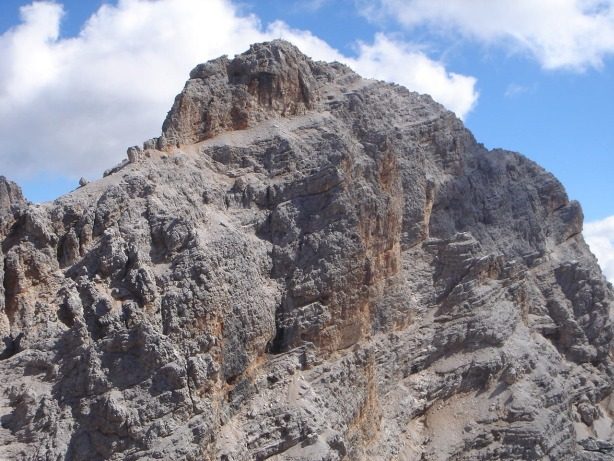Foto: Manfred Karl / Klettersteig Tour / Via ferrata René de Pol / Cristallo di Mezzo / 04.10.2008 16:59:02