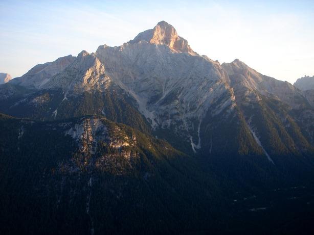 Foto: Manfred Karl / Klettersteig Tour / Via ferrata Ivano Dibona / Hohe Gaisl / 04.10.2008 16:43:52
