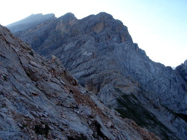 Foto: Manfred Karl / Klettersteig Tour / Via ferrata Ivano Dibona / Auf Höhe des Zurlon / 04.10.2008 16:39:37