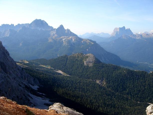 Foto: Manfred Karl / Klettersteig Tour / Via ferrata Ivano Dibona / Sorapiss und Monte Pelmo / 04.10.2008 16:35:51