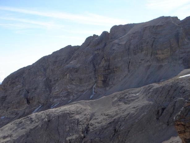 Foto: Manfred Karl / Klettersteig Tour / Via ferrata Ivano Dibona / Kammverlauf zum Cristallo / 04.10.2008 16:24:39