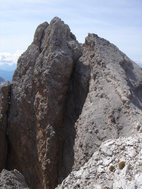 Foto: Manfred Karl / Klettersteig Tour / Via ferrata Ivano Dibona / Cristallino d´Ampezzo / 04.10.2008 16:13:32