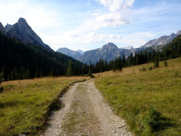 Foto: Manfred Karl / Klettersteig Tour / Via ferrata Ivano Dibona / Gemütlicher Ausklang durchs Val Padeòn / 04.10.2008 16:02:53
