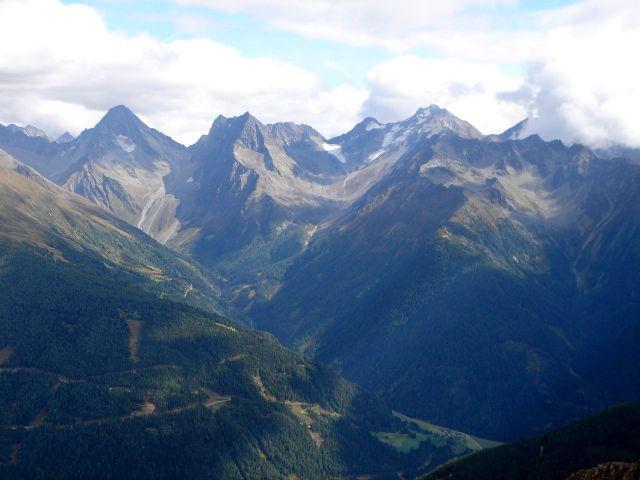 Foto: Manfred Karl / Kletter Tour / Über den Direkten Ostgrat auf die Blauspitze IV / Schobergruppe / 04.10.2008 12:31:05