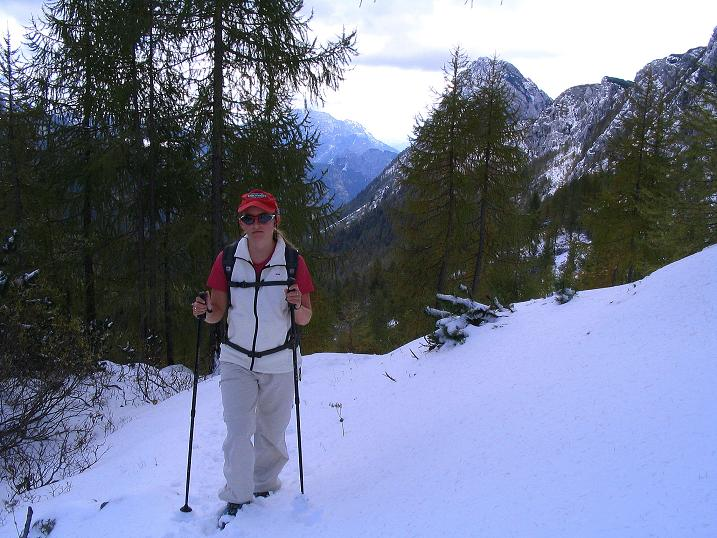 Foto: Andreas Koller / Klettersteig Tour / Ferrata Enrico Contin (2240m) / Im Winkeltal / 06.10.2008 19:48:32