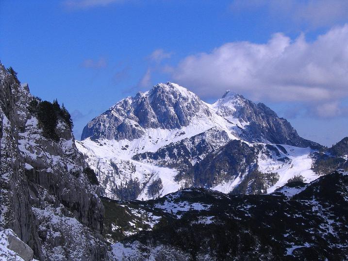 Foto: Andreas Koller / Klettersteig Tour / Ferrata Enrico Contin (2240m) / Der Gartnerkofel im O (2195 m) / 06.10.2008 19:47:01