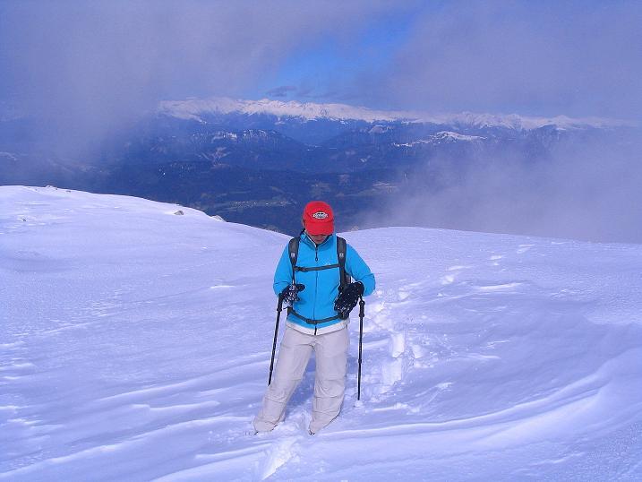 Foto: Andreas Koller / Klettersteig Tour / Ferrata Enrico Contin (2240m) / Ausstieg am Gipfelplateau / 06.10.2008 19:40:32