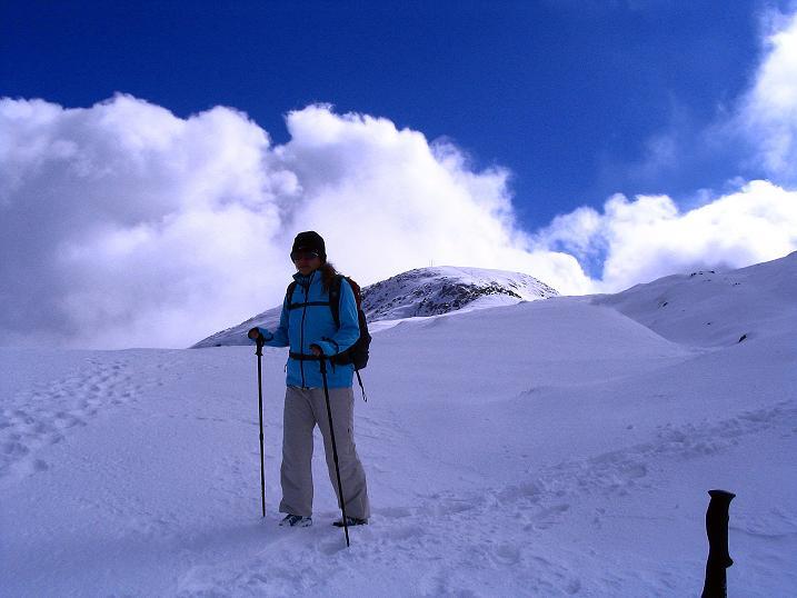 Foto: Andreas Koller / Klettersteig Tour / Ferrata Enrico Contin (2240m) / Abstieg vom Rosskofel / 06.10.2008 19:39:14