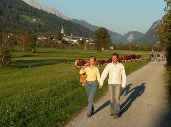 Foto: Tourismusverband Radstadt / Wander Tour / Ennsweg nach Altenmarkt / 09.10.2008 08:37:29