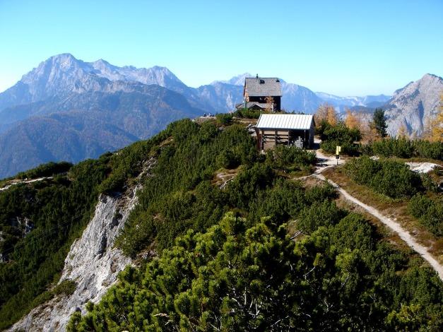 Foto: Manfred Karl / Klettersteig Tour / Über den Wildental Klettersteig auf das Persailhorn / Hier kann man es gut aushalten! / 11.10.2008 21:55:17