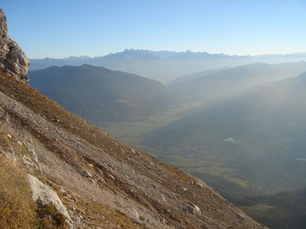Foto: Manfred Karl / Klettersteig Tour / Über den Wildental Klettersteig auf das Persailhorn / Saalfeldener Becken und Hohe Tauern / 11.10.2008 21:33:59