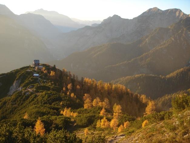 Foto: Manfred Karl / Klettersteig Tour / Über den Wildental Klettersteig auf das Persailhorn / Im Spätherbst ist die Tour besonders schön! / 11.10.2008 21:32:22