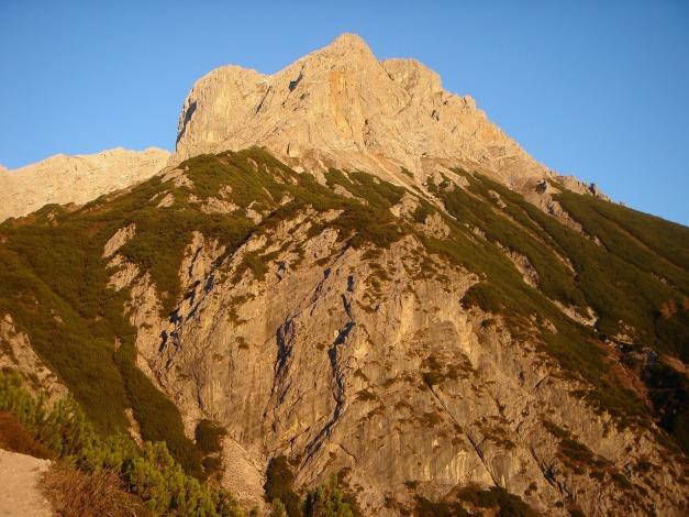 Foto: Manfred Karl / Klettersteig Tour / Über den Wildental Klettersteig auf das Persailhorn / Persailhorn / 11.10.2008 21:31:40