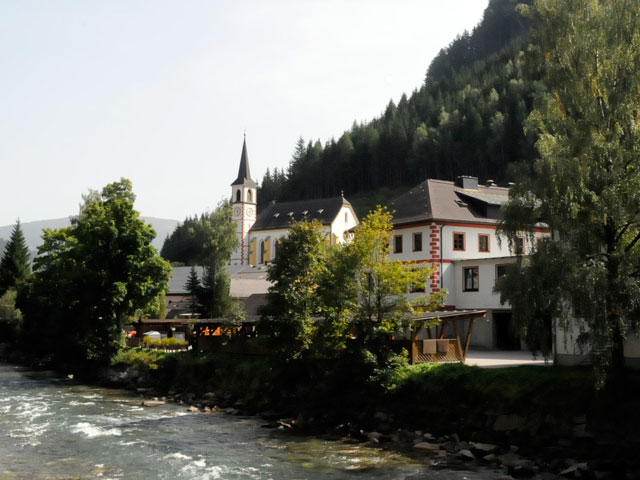 Foto: Samson / Rad Tour / Schwarzenbergrunde / Gemeinde Ramingstein am Murfluss / 13.10.2008 17:18:50