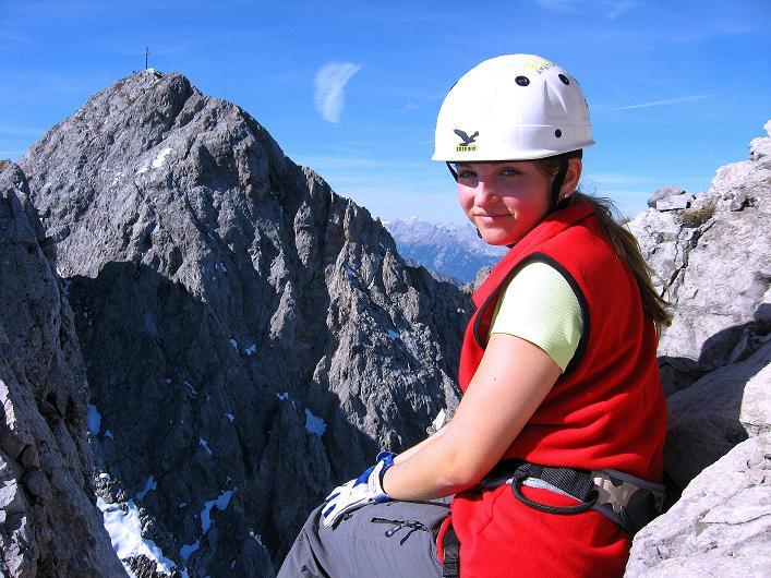 Foto: Andreas Koller / Klettersteig Tour / Innsbrucker Klettersteig - Hannes Gasser Panorama Klettersteig (2480m) / Blick von O auf den Kemacher / 15.10.2008 01:24:05