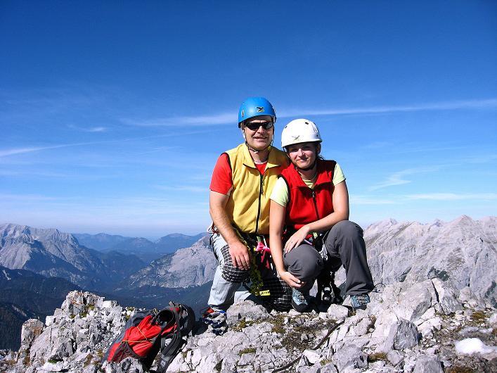 Foto: Andreas Koller / Klettersteig Tour / Innsbrucker Klettersteig - Hannes Gasser Panorama Klettersteig (2480m) / Am Kemacher / 15.10.2008 01:19:00