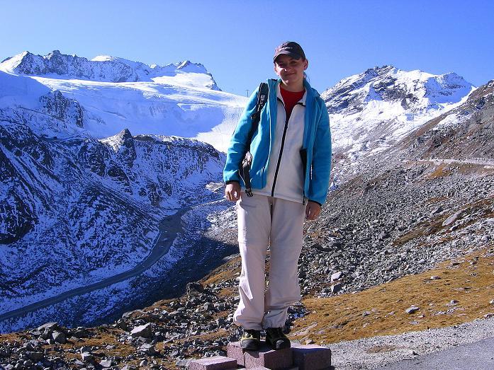 Foto: Andreas Koller / Wander Tour / Söldner Wandertour: Schwarzkogel (3018m) und Rotkogel (2947m) / Ausgangspunkt ist die Gletschertsraße / 16.10.2008 01:19:54