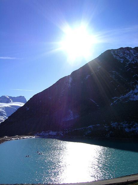 Foto: Andreas Koller / Wander Tour / Söldner Wandertour: Schwarzkogel (3018m) und Rotkogel (2947m) / Künstlicher See und Ötztaler Gletscherwelt / 16.10.2008 00:59:08