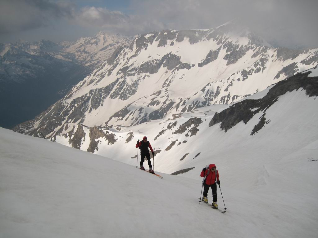 Foto: Heidi Schützinger / Ski Tour / Brennkogel / Kurz vor dem Brennkogel Gipfel / 11.05.2011 15:41:42