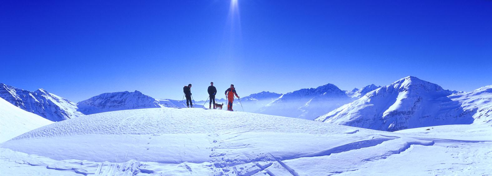 Foto: Andreas Kleinwächter / Ski Tour / Eckkopf (2871) / Anstieb zum Eckkopf. (C) www.tauernalpin.at - Klaus Dapra / 20.10.2008 11:54:51
