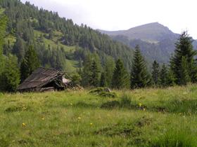 Foto: Romana Koeroesi / Wander Tour / Nach St.Lorenzen / Gemeinde Reichenau. Blick auf die Kaserhöhe; Bild: Regionalverband kärnten:mitte / 07.05.2009 15:16:02
