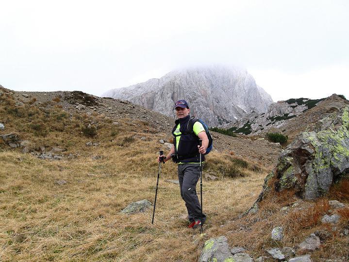 Foto: Andreas Koller / Klettersteig Tour / Via ferrata Crete Rosse und Uiberlacher Klettersteig (2280m) / Annäherung an den Trogkofel / 22.10.2008 00:36:09