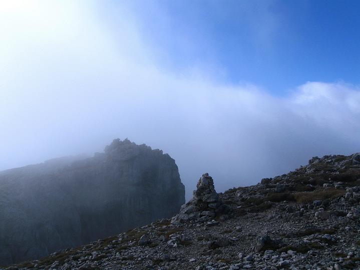 Foto: Andreas Koller / Klettersteig Tour / Via ferrata Crete Rosse und Uiberlacher Klettersteig (2280m) / Gipfelimpressionen / 22.10.2008 00:25:09