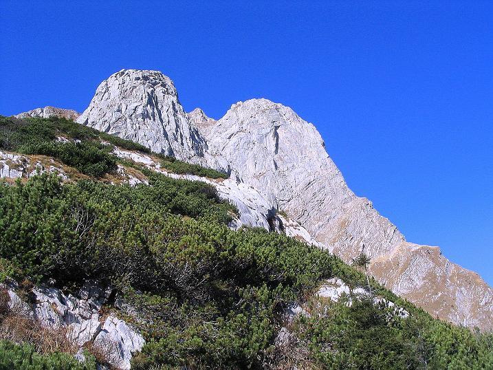 Foto: Andreas Koller / Klettersteig Tour / Cellon Stollen und Steinbergerweg (2241 m) / Schulter und Frischenkofel / 23.10.2008 01:18:28