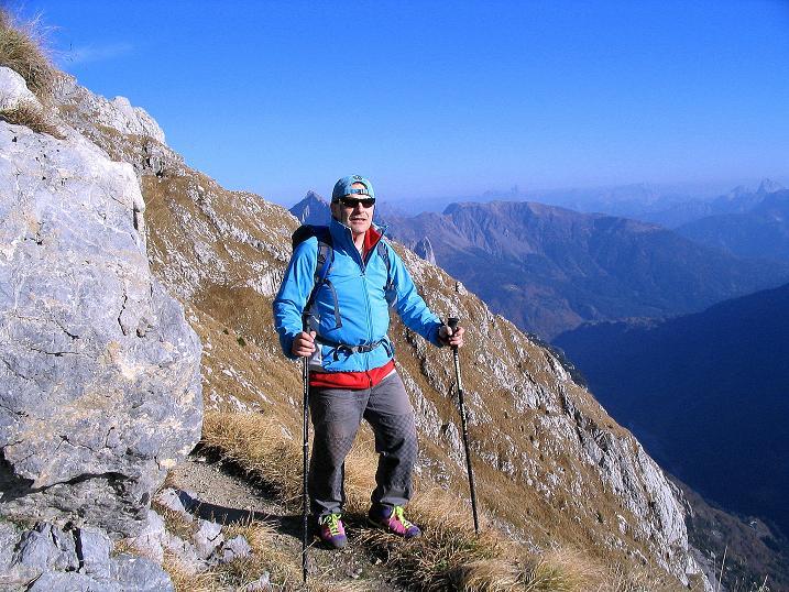 Foto: Andreas Koller / Klettersteig Tour / Cellon Stollen und Steinbergerweg (2241 m) / Am aussichstreichen Normalweg / 23.10.2008 00:59:18