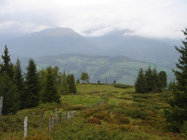 Foto: berglerin / Wander Tour / Trattnerkogel / Trattner Kogel Gipfelkreuz / 03.08.2009 19:57:56