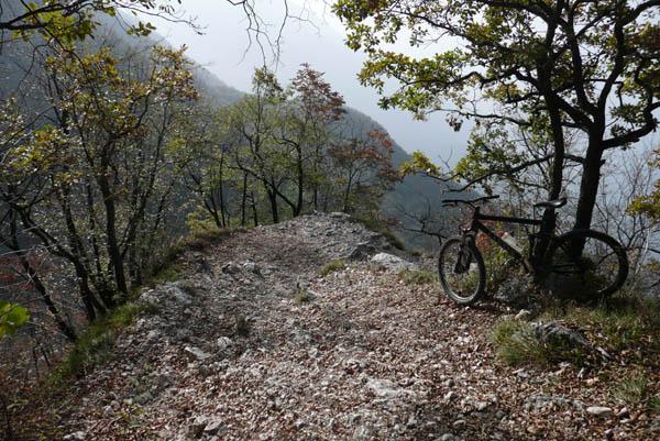 Foto: Lenswork.at / Ch. Streili / Mountainbike Tour / Torbole - Dosso dei Roveri - Navene / 27.10.2008 14:22:01