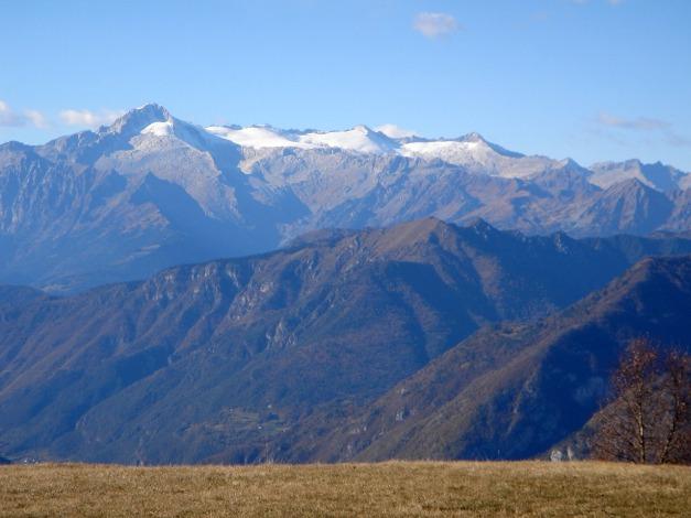 Foto: Manfred Karl / Klettersteig Tour / Via ferrata Ernesto Che Guevara / Adamello vom Monte Casale / 28.10.2008 11:06:47
