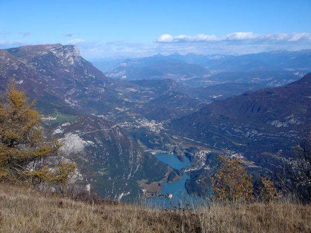 Foto: Manfred Karl / Klettersteig Tour / Via ferrata Ernesto Che Guevara / Lago di Toblino und Lago di San Massenza / 28.10.2008 11:08:51